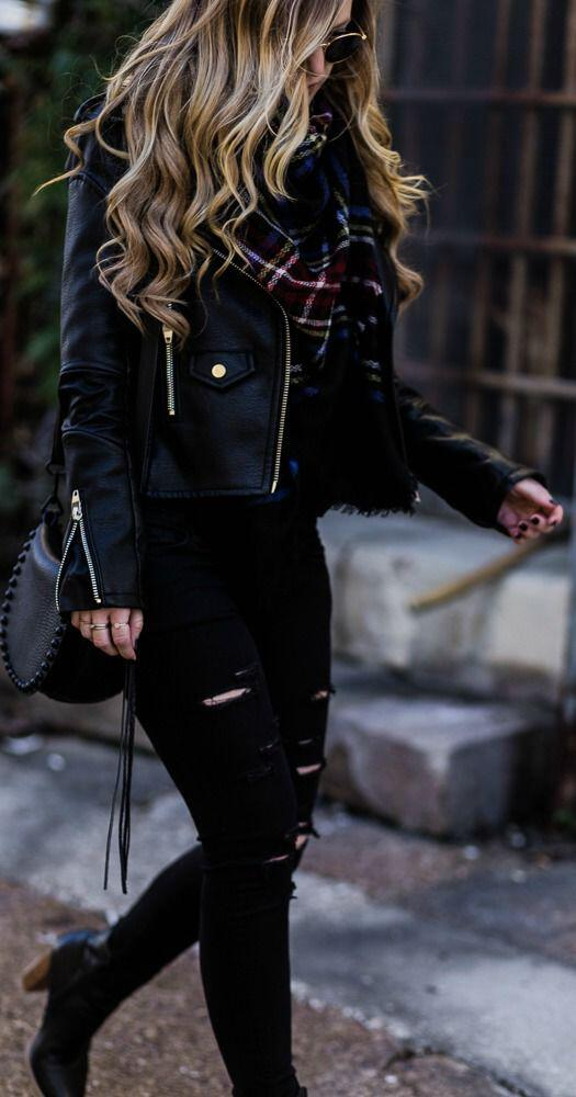 9 black booties outfits to wear this fall 5 - 9 black booties outfits to wear this fall