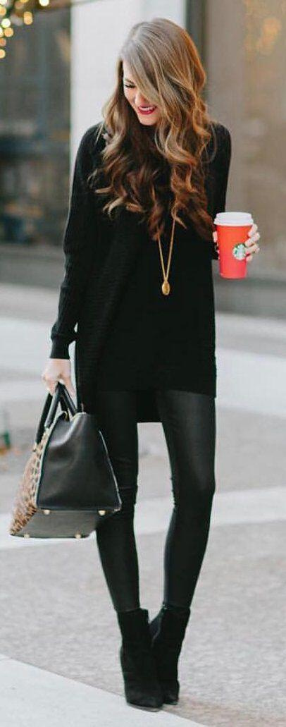 9 black booties outfits to wear this fall 8 - 9 black booties outfits to wear this fall