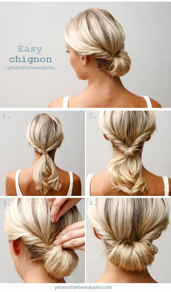 12 simple office hairstyles you have to try 3 - 12 simple office hairstyles you have to try