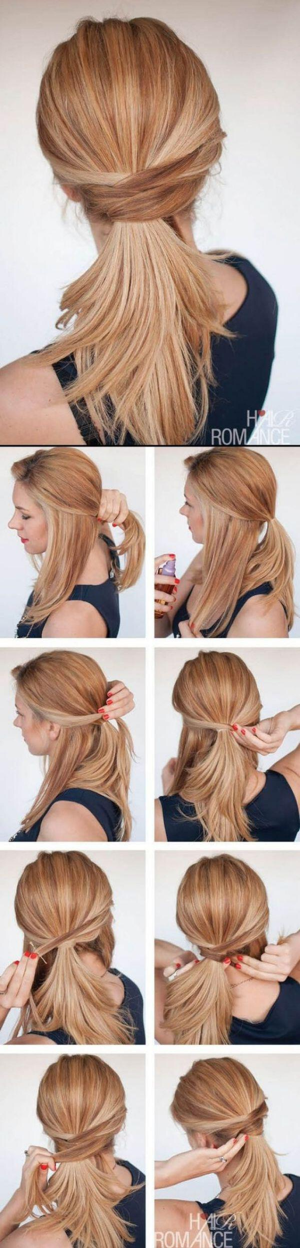 12 simple office hairstyles you have to try 4 - 12 simple office hairstyles you have to try