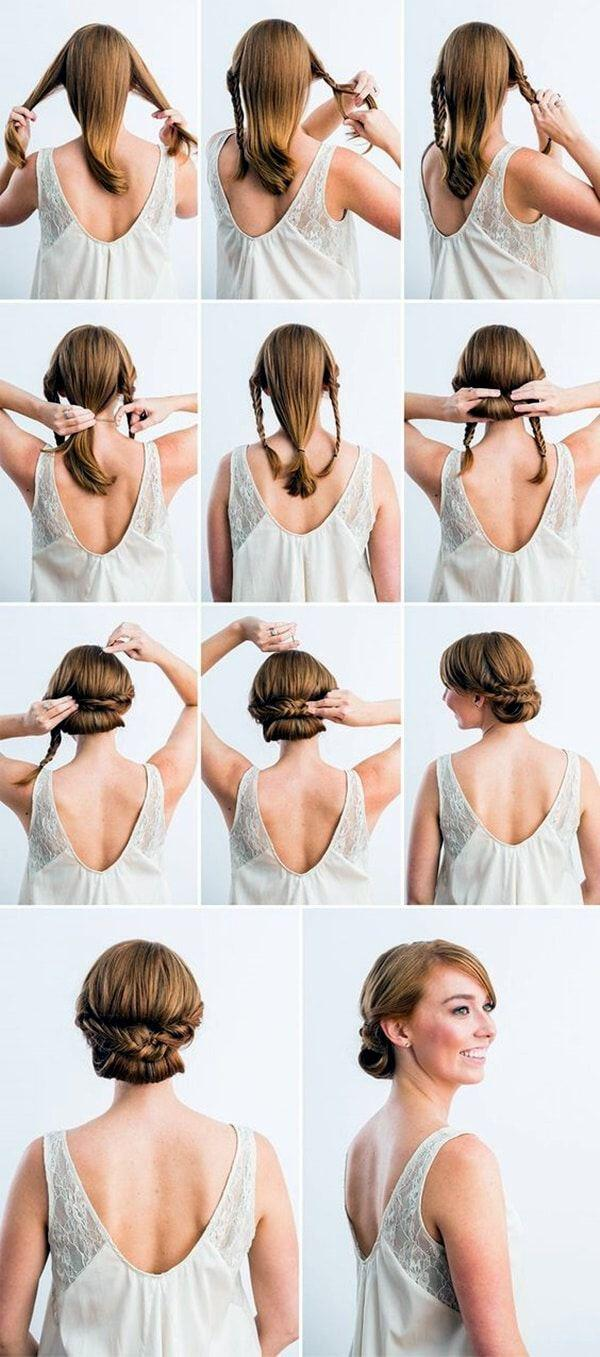12 simple office hairstyles you have to try 5 - 12 simple office hairstyles you have to try