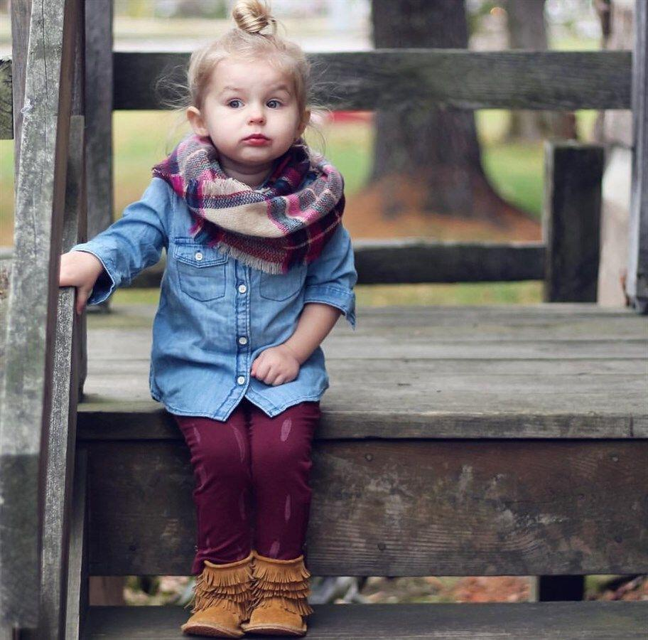 15 cute plaid blanket scarf outfits for fall 13 - 15 cute plaid blanket scarf outfits for fall