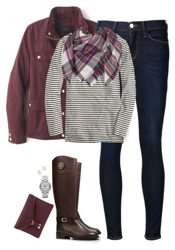 15 cute plaid blanket scarf outfits for fall 2 - 15 cute plaid blanket scarf outfits for fall