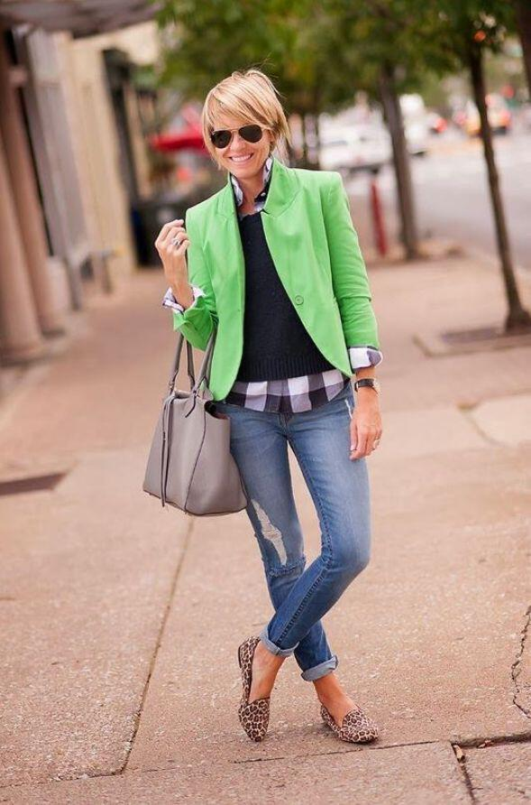 15 gingham shirt work outfits for women 12 - 15 beautiful gingham shirt work outfits for women