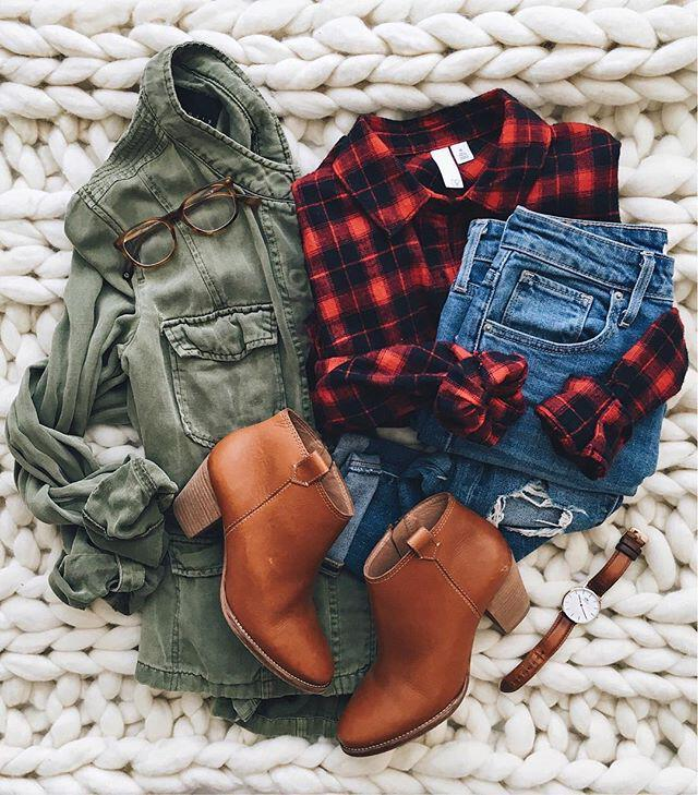 15 stylish fall outfits with cognac boots 11 - 15 stylish fall outfits with cognac boots