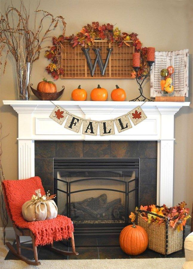 19 Adorable Living Room Fall Decor Ideas You Can Copy