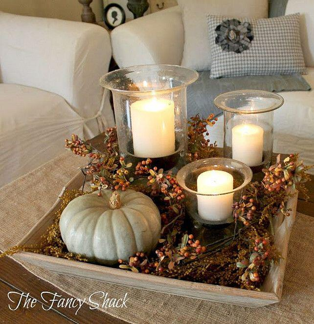 19 Adorable Living Room Fall Decor Ideas You Can Copy