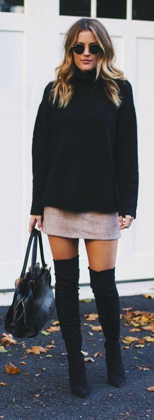 25 amazing over the knee boot outfits - 25 amazing over the knee boot outfits
