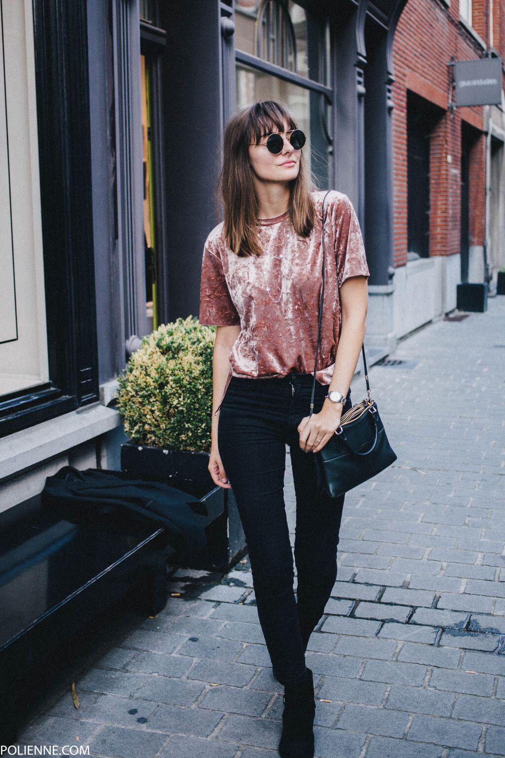 how to wear velvet outfits this fall 2 - Πως να φορέσεις βελούδο το χειμώνα