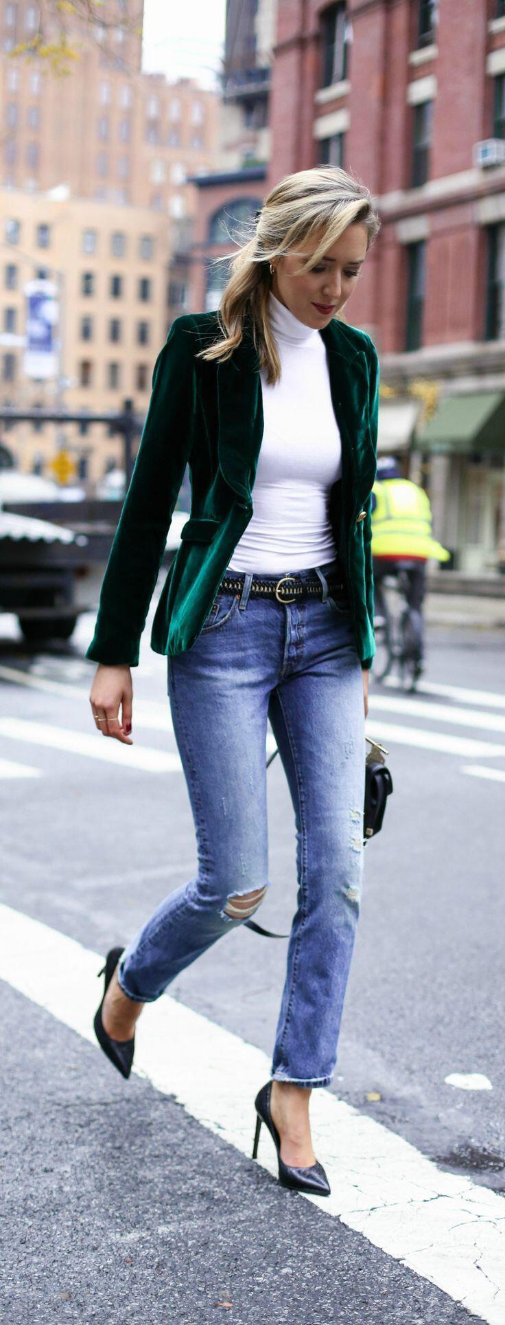 how to wear velvet outfits this fall 8 - Πως να φορέσεις βελούδο το χειμώνα