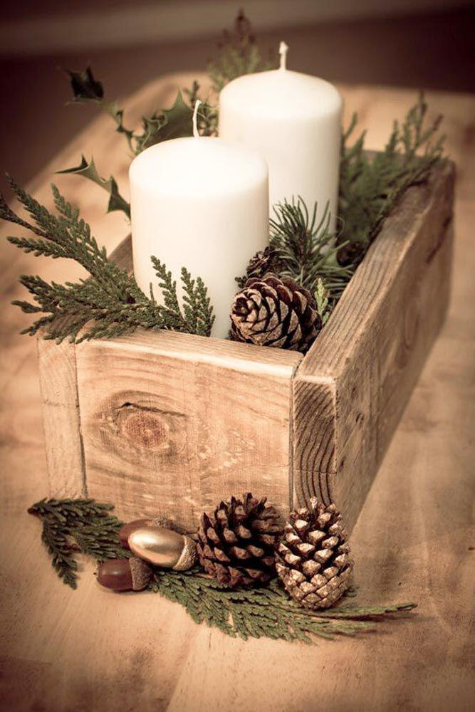 15 beautiful christmas table decorations you can copy 3 - 15 beautiful Christmas table decorations you can copy