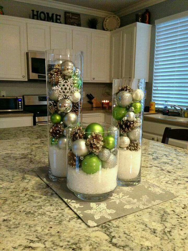 15 beautiful christmas table decorations you can copy - 15 beautiful Christmas table decorations you can copy