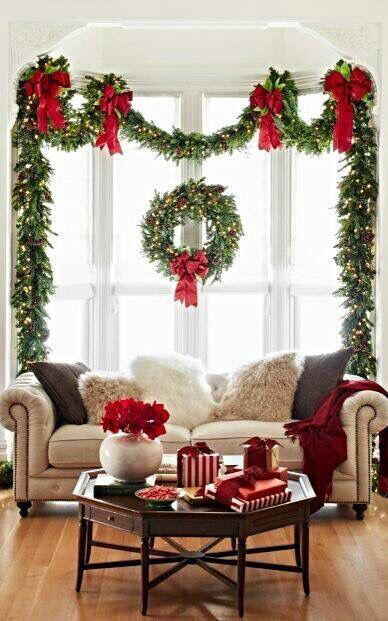 17 lovely Christmas decorations for the living room - stylishwomenoutfits.com & 17 lovely Christmas decorations for the living room ...
