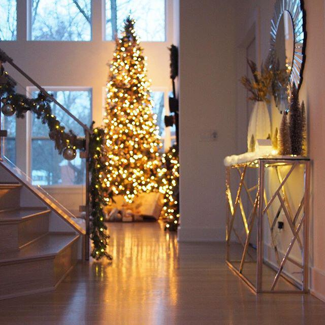 17 lovely christmas decorations for the living room - 17 lovely Christmas decorations for the living room