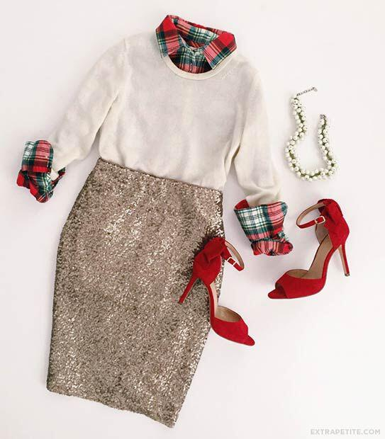 29 dazzling sequin skirt outfits you should try 1 - 29 dazzling sequin skirt outfits you should try