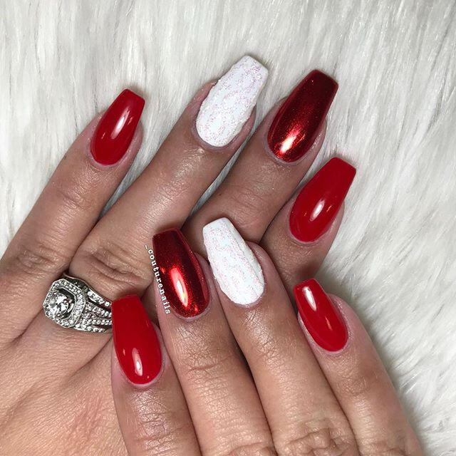 35 stunning xmas nails to make you feel festive 37 - 40+ stunning xmas nails to make you feel festive
