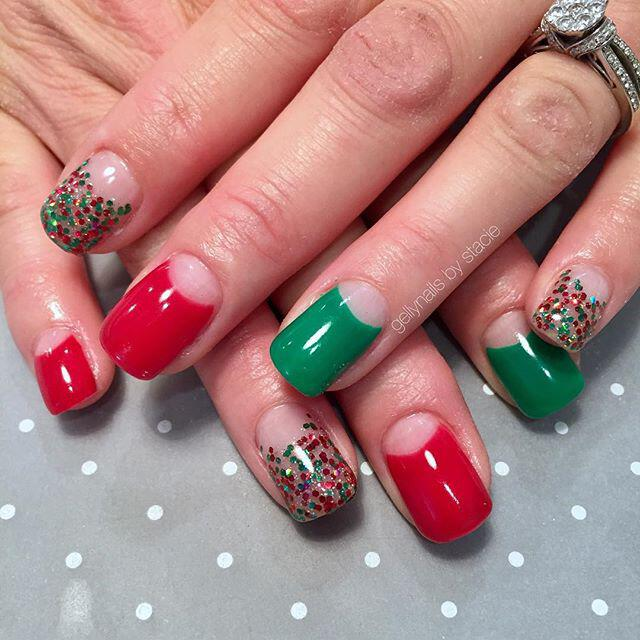 35 stunning xmas nails to make you feel festive - 40+ stunning xmas nails to make you feel festive