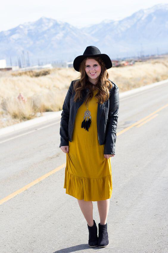 how to wear a leather jacket with a dress 30 best outfits - how to wear a leather jacket with a dress, 30 best outfits