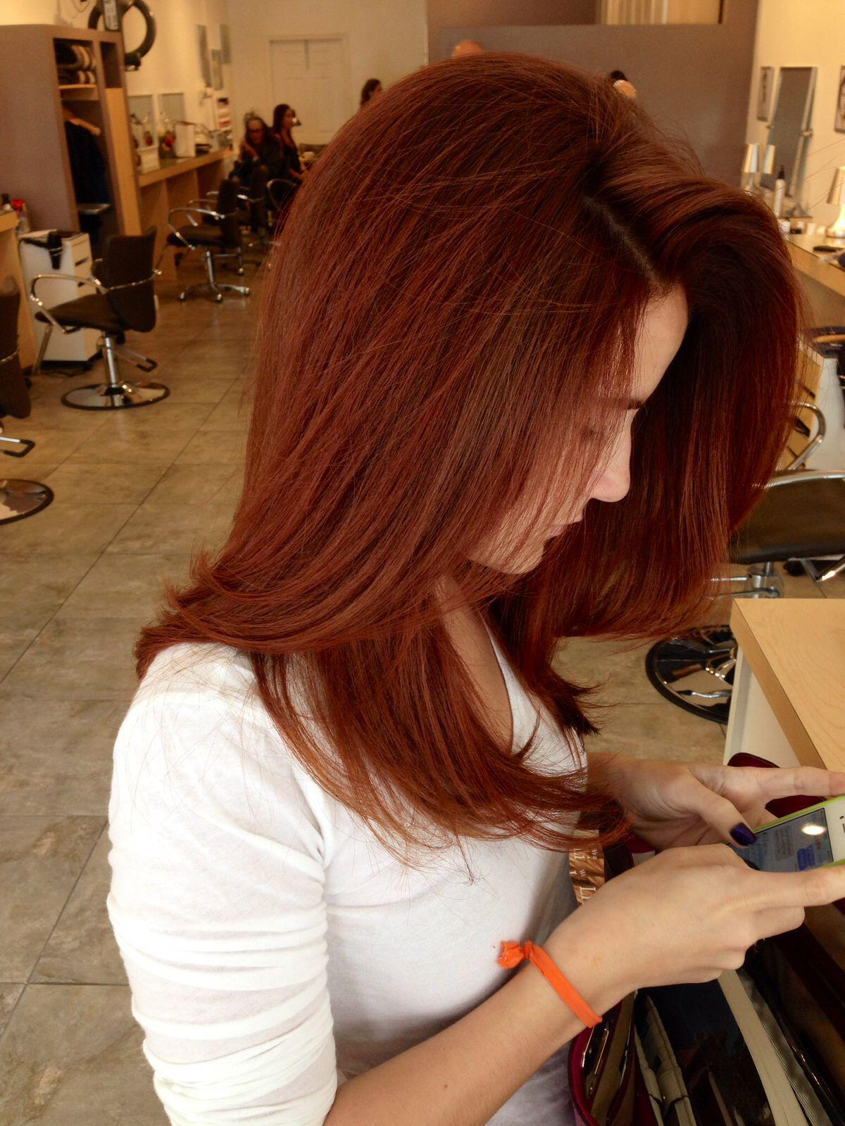 15 Amazing Copper Red Hair Color Hairstyles Page 5 Of 15