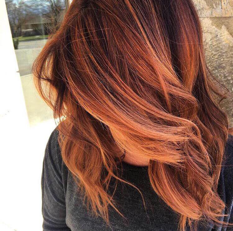 25 Inspirations Showcasing Hot Home Office Trends: 15 Amazing Copper Red Hair Color Hairstyles