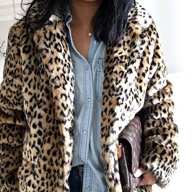 31 trendy leopard coat outfits that are actually easy to copy - 31 trendy leopard coat outfits that are actually easy to copy