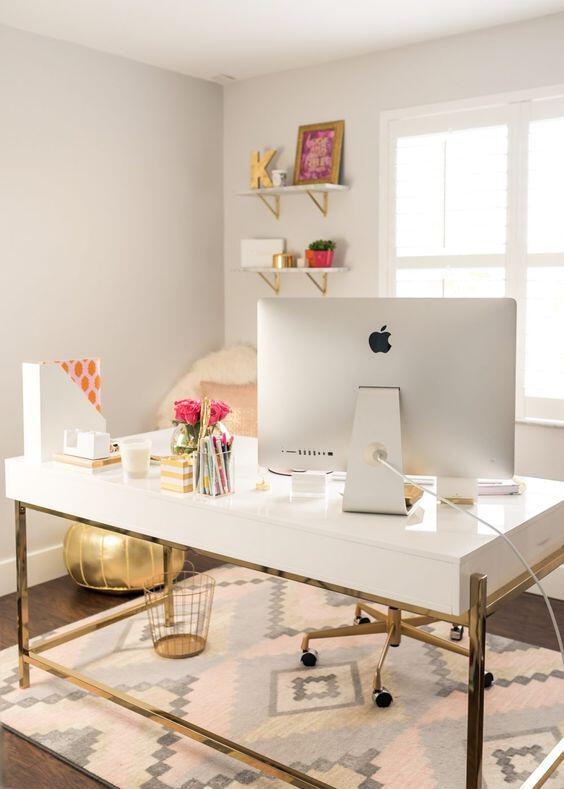 35 Lovely Home Office Design Ideas To Get Inspiration