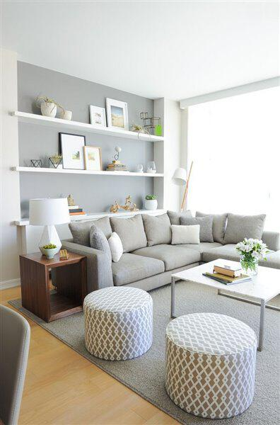 10 reasons to choose a grey couch + 50 decoration ideas