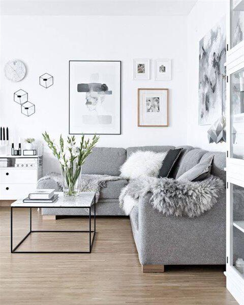 10 reasons to choose a grey couch 50 decoration ideas 79 - 10 reasons to choose a grey couch + 50 decoration ideas
