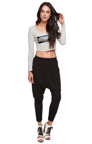 How to wear harem pants this year 80 best outfits 39 - How to wear harem pants this year, 80+ best outfits