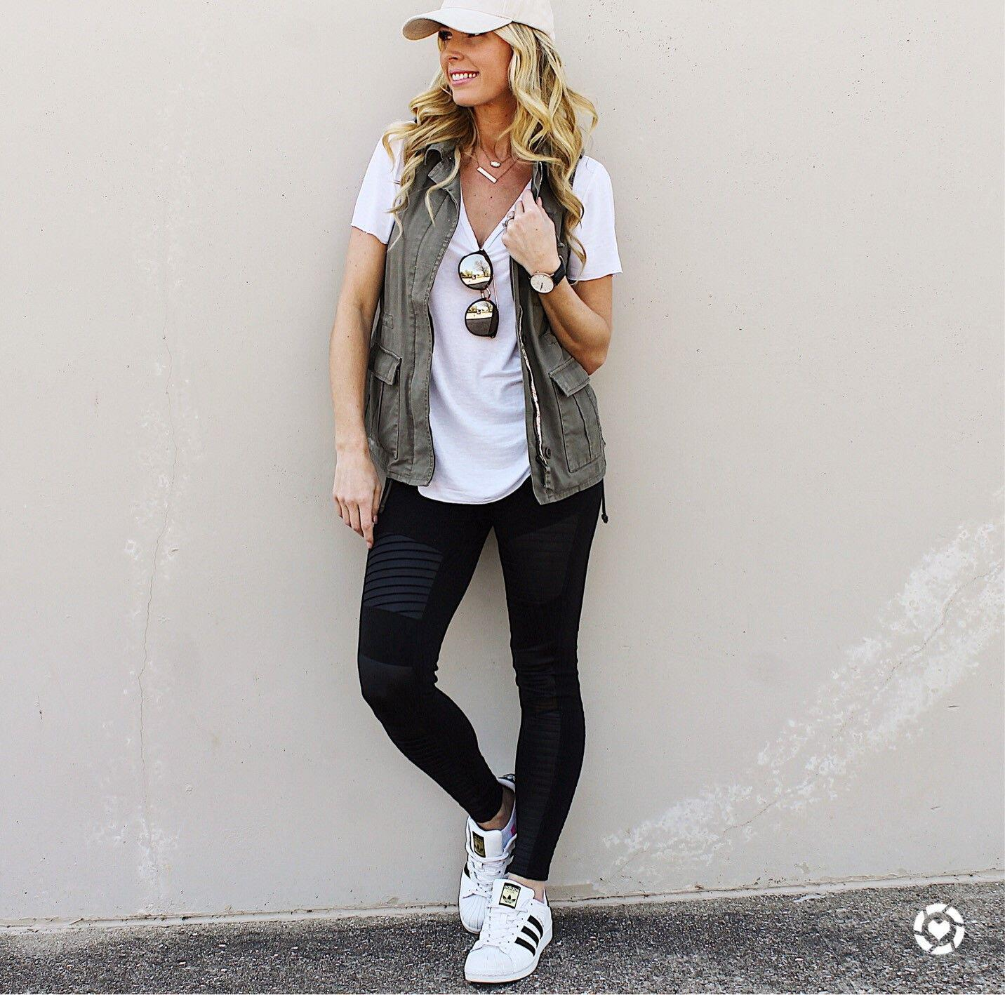 what to wear with moto leggings 50+ best outfits - Page 24